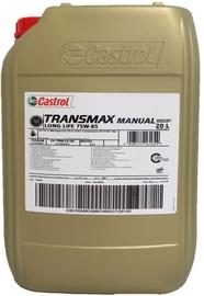 Transmisijas eļļa Castrol Transmax Manual Long Life 75W - 85, transmisijas, kravas automašīnām, 20 l