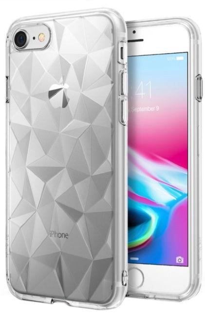 Blun 3D Prism Shape Back Case For Samsung Galaxy J5 J530 Transparent