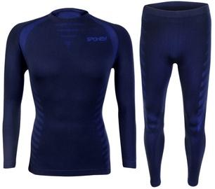 Kostīms Spokey Windstar Thermoactive Underwear Set Blue M/L