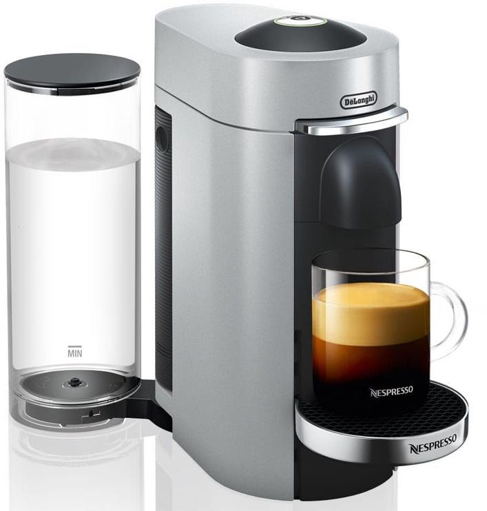 Kapsulas kafijas automāts De'Longhi Nespresso VertuoPlus Deluxe ENV155, sudraba