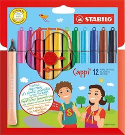 Stabilo Cappi Fibre-Tip Pens 12pcs
