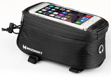 Wozinsky Bike Front Storage Bag Bicycle Frame Phone Case 6.5'' 1.5l Black