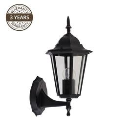 Lampa Domoletti Chora 053-WU, 1 gab., 60W, e27, IP43, melna