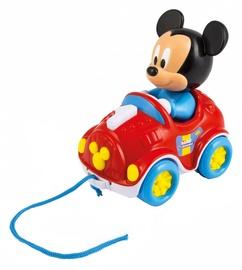 Interaktīva rotaļlieta Clementoni Disney Baby Mickey Pull Along Car 17208