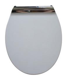 Tualetes poda vāks Novito Smart Slim YHUF-X29 47,5x40cm, balts