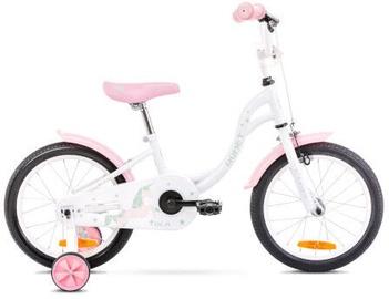Bērnu velosipēds Romet Tola 16 9'' White/Pink 2021
