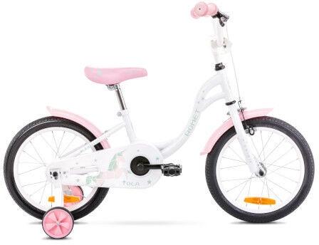 "Bērnu velosipēds Romet 2116057 2021, balta/rozā, 16"""