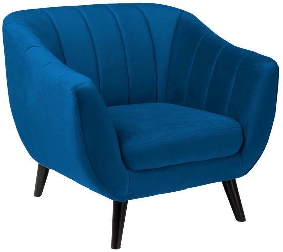 Atzveltnes krēsls Signal Meble Elite Velvet 1 Blue, 83x68x91 cm