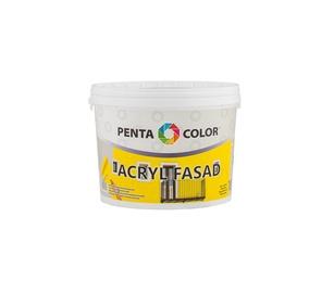Krāsa fasādēm Pentacolor Acryl Fasad, 3 l, balta