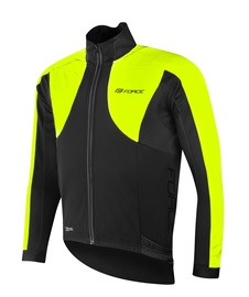Force X100 Jacket Unisex Black/Yellow XS