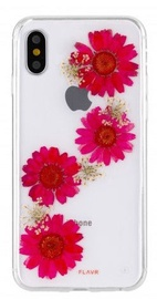 Flavr Real 3D Flowers Premium Case For Apple iPhone X Paula