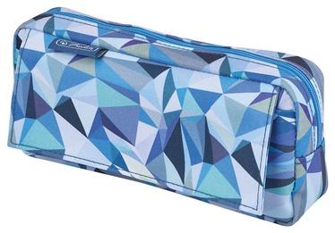Herlitz Pencil Pouch With Pocket Wild Animals Blue