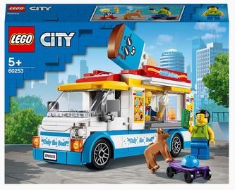 Konstruktors LEGO City Saldējuma busiņš 60253, 200 gab.