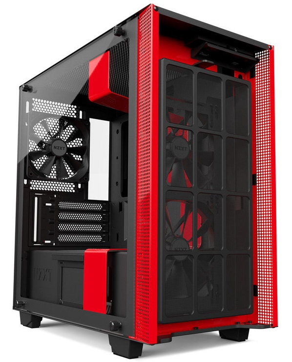 NZXT H400 Mid-Tower mATX Black/Red