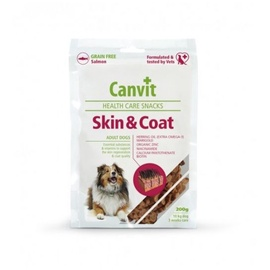 Gardums suņiem Canvit Health Care Snacks Skin & Coat Salmon 200g