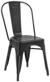 Ēdamistabas krēsls Signal Meble Loft Black Matte