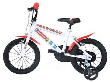 """Velosipēds Bimbo Bike 77323 16"""" White Red"""
