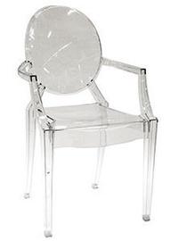 Ēdamistabas krēsls Verners Nancy 557544 Transparent
