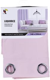 Tuckano Liquorice Curtain 140x250cm Pink