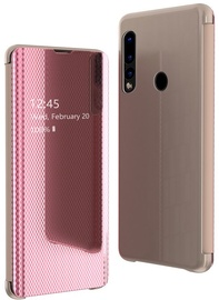 Hurtel Flip View Cover For Huawei P30 Lite Pink