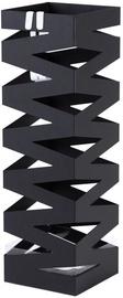 Подставка для зонтов Songmics, черный, 155x155x490 мм