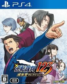 PlayStation 4 (PS4) spēle Capcom Phoenix Wright: Ace Attorney Trilogy Asian Version