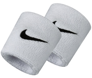 Nike NN04101 Wristbands White