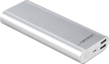 Ārējs akumulators Esperanza EMP113 Silver, 10000 mAh