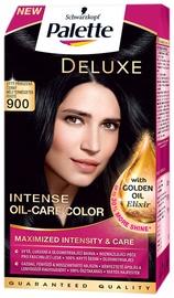 Matu krāsa Schwarzkopf Palette Deluxe Intensive Oil Care Color 900 Natural Deep Black
