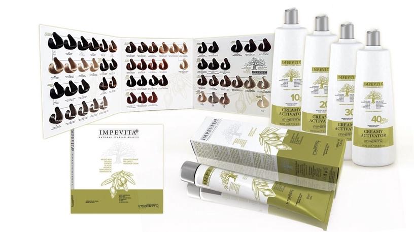 Imperity Professional Impevita Ammonia Free Hair Color Cream 100ml 6.00