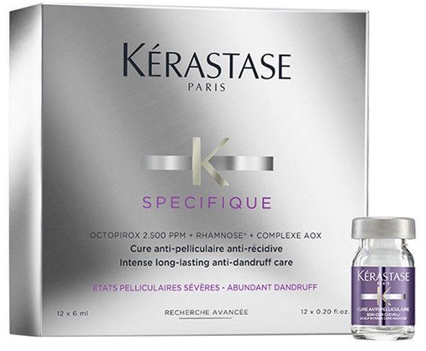 Концентрат для волос Kerastase Specifique Cure Anti-Pelliculaire, 12 x 6 мл