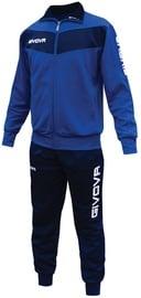 Спортивный костюм Givova Visa Blue Navy 2XS