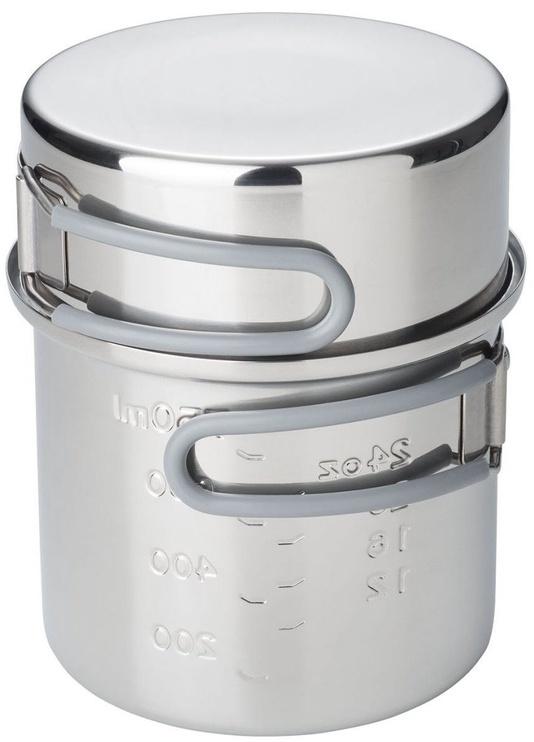 Esbit Stainless Steel Pot Set 1000ml/475ml