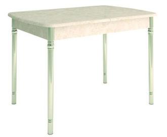 Pusdienu galds DaVita Orfej 28 Stone Cream, 1120x750x750 mm