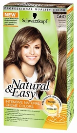 Schwarzkopf Natural & Easy Hair Color 560 Cashmere Light Brown