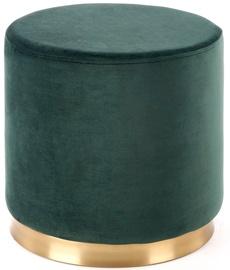 Halmar Covet Stool Dark Green/Gold
