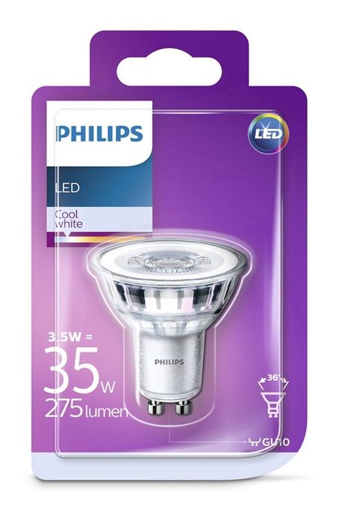 SPULDZE LED 36D 3.5W GU10 CW 230V ND 275 (PHILIPS)