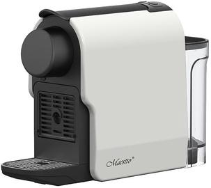 Kapsulas kafijas automāts Feel-Maestro MR 415, balta/melna