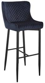 Bāra krēsls Signal Meble Hoker Colin B H-1 Velvet Black, 1 gab.