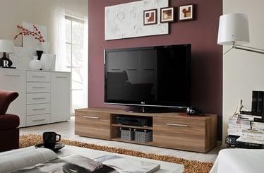 TV galds ASM Bono II Plum, 1800x450x350 mm