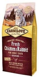 Sausā kaķu barība Carnilove Adult Cat Fresh Chicken & Rabbit 6kg