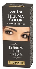 Краска для бровей и ресниц Venita Henna Eyebrow Tint Graphite