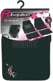 Автомобильный коврик из ткани Bottari R.Evolution My Bouquet, 4 шт.