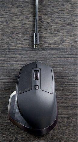 Datorpele Logitech MX Master for Business, brūna/melna