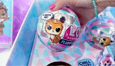 Rotaļlietu figūriņa MGA L.O.L. Surprise Winter Disco Fluffy Pets