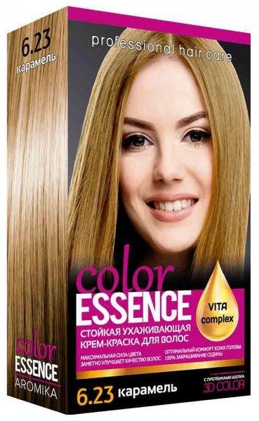 Aromat Cream Hair Dye Aromika Color Essence 6.23