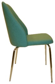 Ēdamistabas krēsls MN 302 Green, 1 gab.
