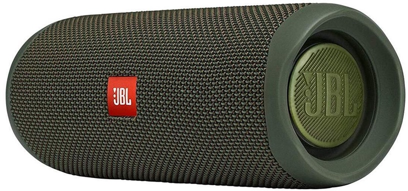 Bezvadu skaļrunis JBL Flip 5 Green, 20 W