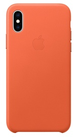 Apple Leather Back Case for Apple iPhone XS Sunset