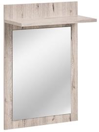 ASM Gustavo Mirror Type E Wellington Oak
